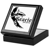 Jiu jitsu Square Keepsake Boxes