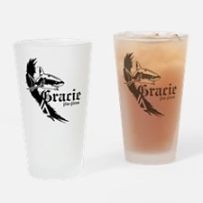 graciefinal2-2BLK Drinking Glass