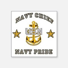 """Chief Pride Square Sticker 3"""" x 3"""""""