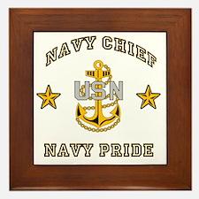 Chief Pride Framed Tile