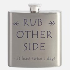 Rub A Dub Dub Flask