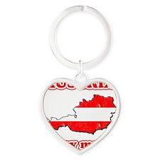 Austria-gday Heart Keychain