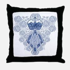 MAmonogramINKCP Throw Pillow