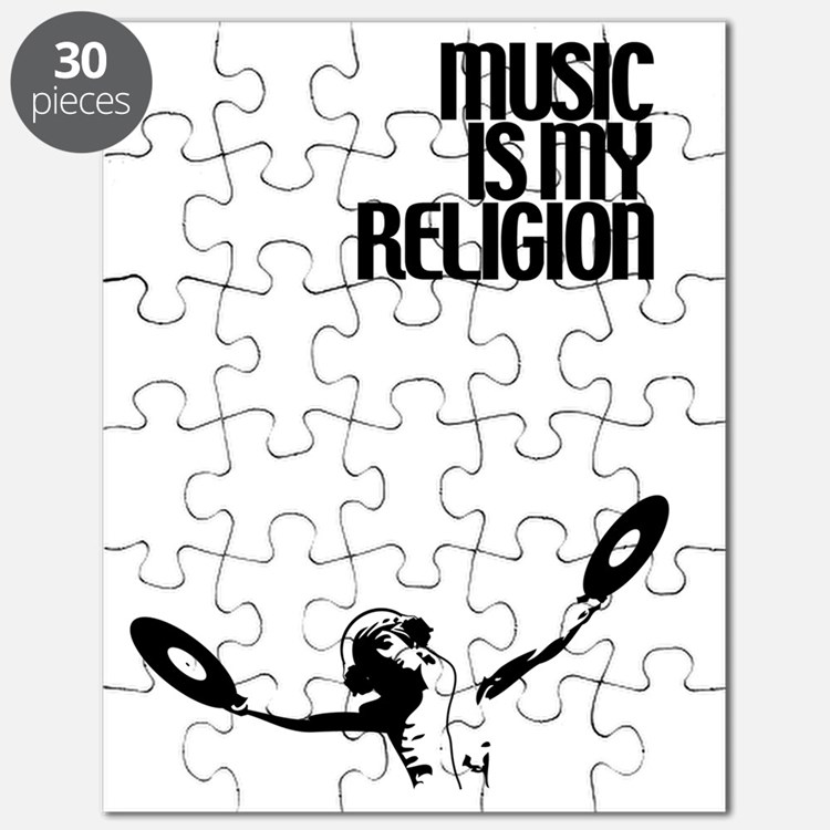 Music Is My Religion Puzzle