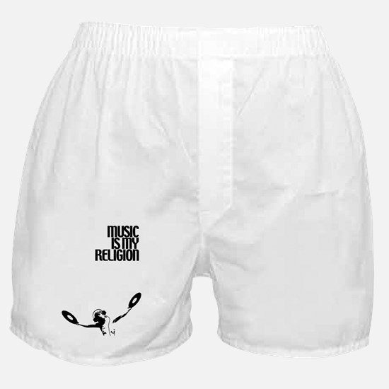 Music Is My Religion Boxer Shorts