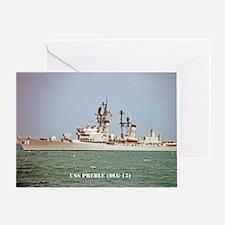 preble dlg large framed print Greeting Card