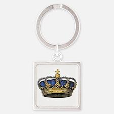 Blue Crown Keychains