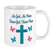 KNOW GOD Small Mug