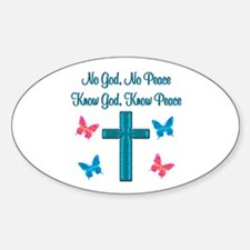 KNOW GOD Decal