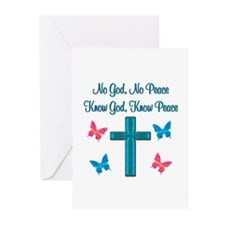 KNOW GOD Greeting Cards (Pk of 20)