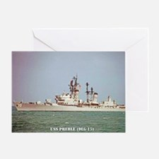 preble dlg small poster Greeting Card