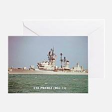 preble dlg postcard Greeting Card