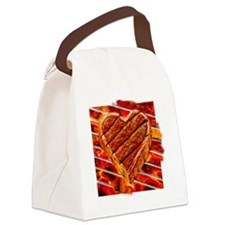 Steak Lover Canvas Lunch Bag