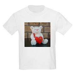 Valentine Teddy Bear Kids T-Shirt