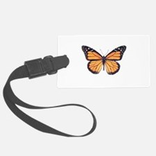 Vintage Butterfly Luggage Tag