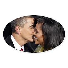 ART Obama first lady v2 Decal