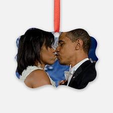 ART Obama first lady v3 Ornament