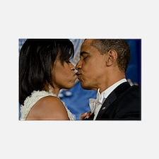 ART Obama first lady v3 Rectangle Magnet