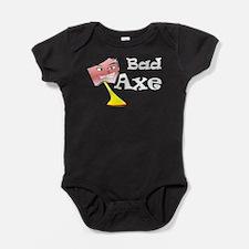 Unique Axe men Baby Bodysuit