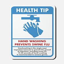 washing-hands Mousepad