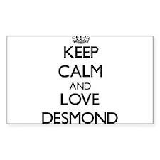 Keep Calm and Love Desmond Decal