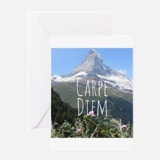 Carpe Diem - Climb a Mountain Greeting Cards