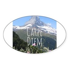 Carpe Diem - Climb a Mountain Decal