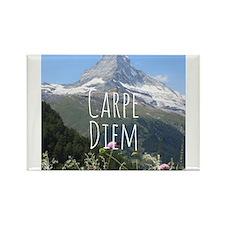 Carpe Diem - Climb a Mountain Magnets
