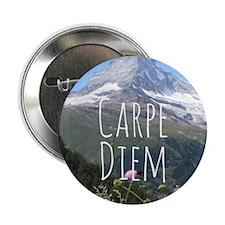 """Carpe Diem - Climb a Mountain 2.25"""" Button"""