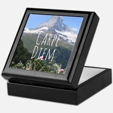 Carpe Diem - Climb a Mountain Keepsake Box