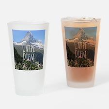 Carpe Diem - Climb a Mountain Drinking Glass