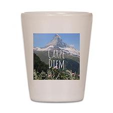 Carpe Diem - Climb a Mountain Shot Glass
