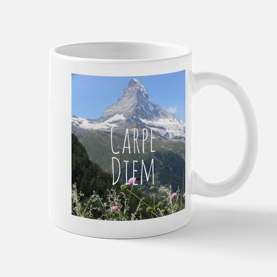 Carpe Diem - Climb a Mountain Mugs