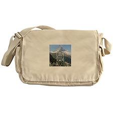 Carpe Diem - Climb a Mountain Messenger Bag