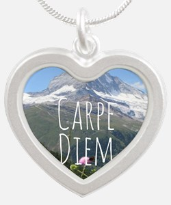 Carpe Diem - Climb a Mountain Necklaces