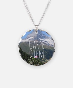 Carpe Diem - Climb a Mountain Necklace
