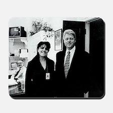 ART Clinton mistress v2 Mousepad