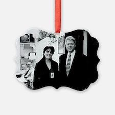 ART Clinton mistress v2 Ornament