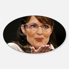 ART Palin Sticker (Oval)