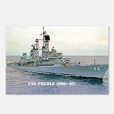 preble ddg large framed p Postcards (Package of 8)