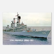 preble ddg small poster Postcards (Package of 8)