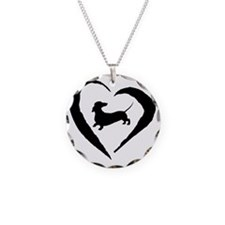 Wiener Heart Necklace