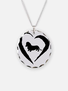 Wiener1 Heart Necklace