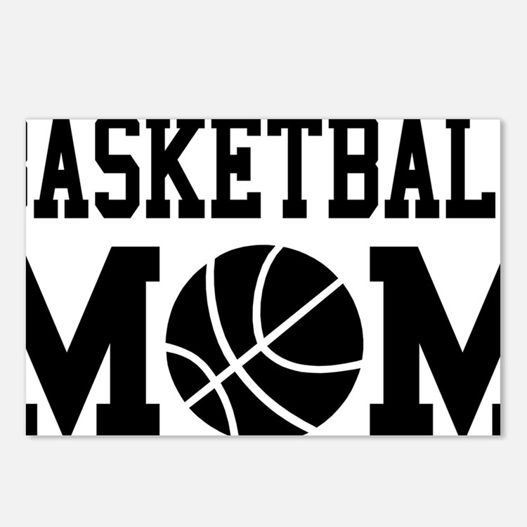 basketball-mom Postcards (Package of 8)