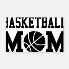 basketball-mom Rectangle Car Magnet