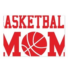 basketball-mom-red Postcards (Package of 8)