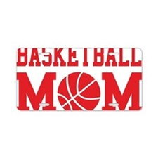 basketball-mom-red Aluminum License Plate