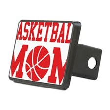 basketball-mom-red Hitch Cover