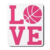 Basketball girls Classic Mousepad