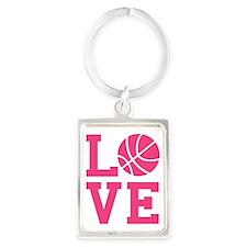 love-basketball Portrait Keychain